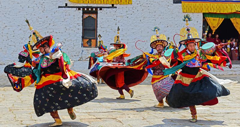 Festival in Bhutan © Samrat35 | Dreamstime.com