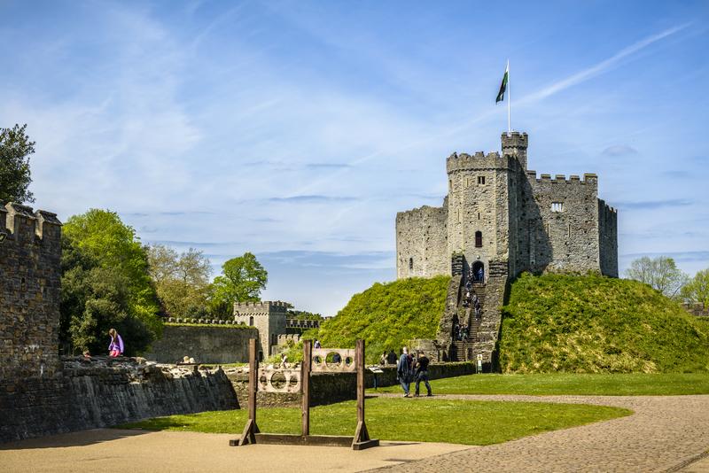Cardiff Castle © Stelios Kyriakides | Dreamstime.com