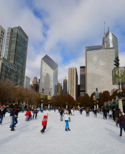 Ice Skating in Chicago © Jim Roberts | Dreamstime.com