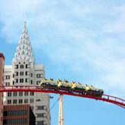 Big Apple Roller Coaster in Las Vegas © Judwick | Dreamstime.com