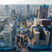 St Louis - view from the Gateway Arch
