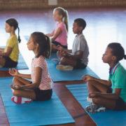 Kids meditating © Wavebreakmedia Ltd | Dreamstime.com