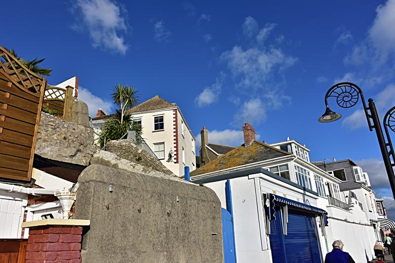 Lyme Regis Coastal Town © Jasminelove - Dreamstime.com