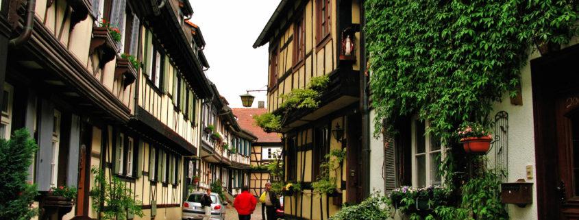Medieval streets in Gengenbach, Germany © Stillman Rogers