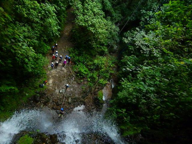 Canyoning © Rina Nehdar