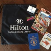 Hilton Chicago O'Hare - Family Suite Activity Bag © Hilton Chicago O'Hare