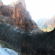 Winter at Zion National Park © Angelique Platas