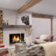 Field Guide, Lounge Fireplace