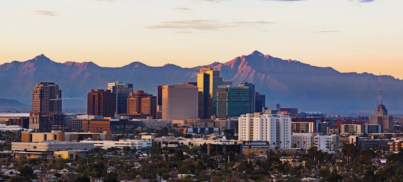 Phoenix skyline © Visit Phoenix