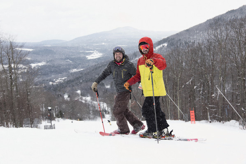 Skiers at Hunter Mountain N.Y.© Liftopia Experiences