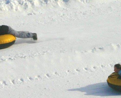 Snow Tubing © Stillman Rogers