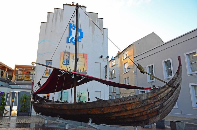 Viking Boat Waterford © Teresa Bitler