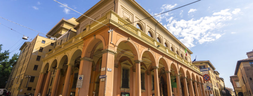 The Teatro Comunale di Bologna, an opera house in Bologna and one of the most important opera venues in Italy © Joaquin Ossorio Castillo | Dreamstime.com