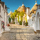 Traditional houses in Alberobello Trulli, Puglia, Apulia, Italy