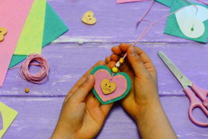 Valentine's Day Crafts for Class © Zoia Lukianova | Dreamstime.com