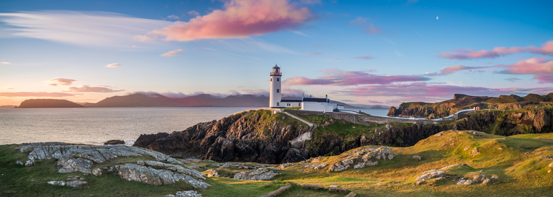 White Lighthouse, Fanad Head, Donegal, Ireland