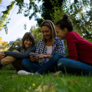 Family using cell phone © Temporaimages | Dreamstime.com