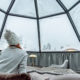 Glass Igloo Hotel in Lapland © Lenise Calleja | Dreamstime.com