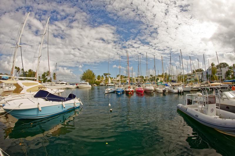Pointe du Bout Marina - Trois-Ilets - Martinique © Thierry Tete | Dreamstime.com