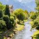 The Oberaukanal flowing through the outskirts of Vaduz, Liechtenstein © Ben Gingell   Dreamstime.com