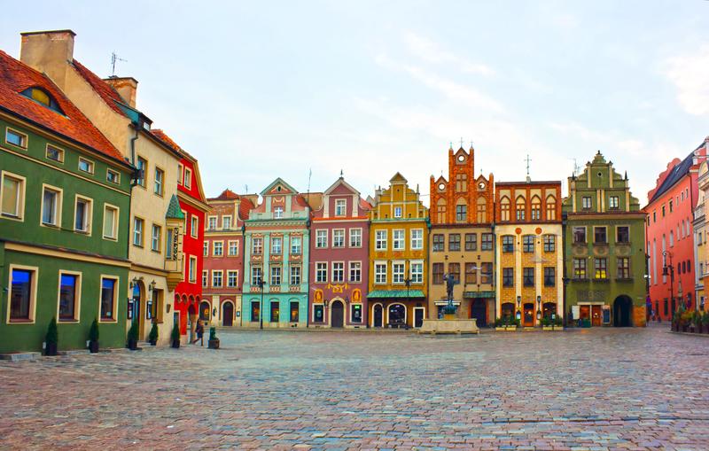 Old square of Poznan, Poland