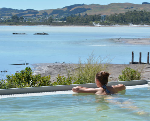Spa Day in Rotorua, New Zealand © Rafael Ben Ari | Dreamstime.com