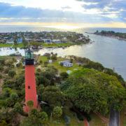 Jupiter Inlet Lighthouse at Jupiter, Palm Beach, Florida © Ryan Jones | Dreamstime.com