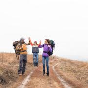 Family backpacking vacation © Lightfieldstudiosprod | Dreamstime.com