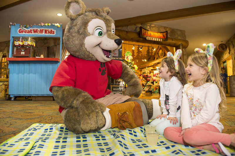 Spring-A-Palooza fun © Great Wolf Lodge