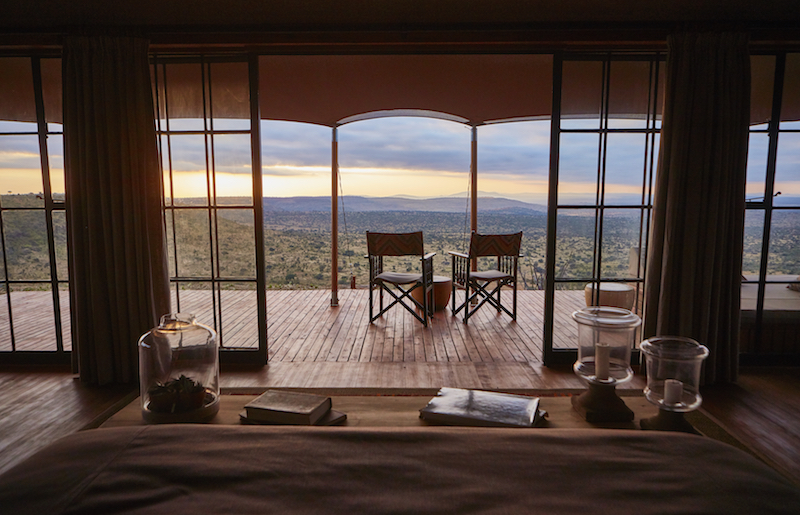 View from the guestroom © Elewana Collection