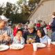 Family eating at Busch Gardens © Visit Williamsburg