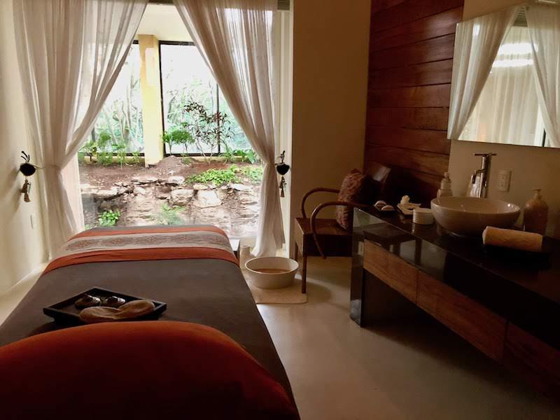 Spa at Grand Velas Riviera Maya. Photo: Rina Nehdar