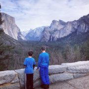 Family vacation in Yosemite