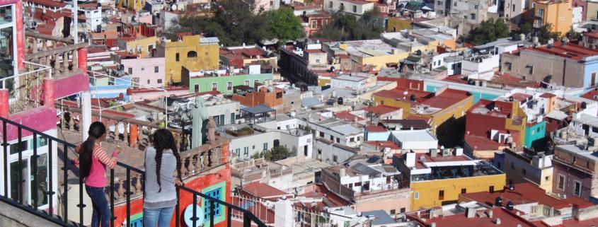 Kids Overlooking Guanajuato