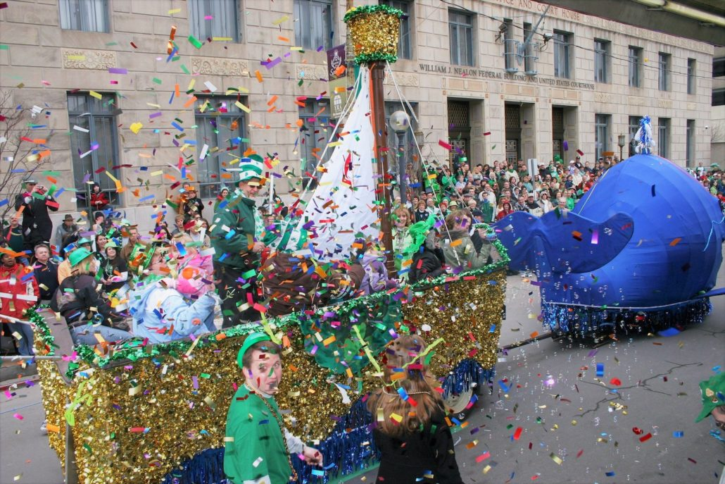 Lackawanna St. Patrick's Day Float