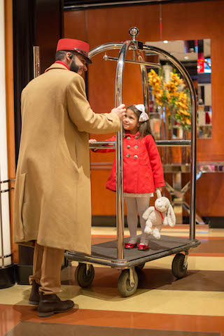 Family-friendly service © The Chatwal