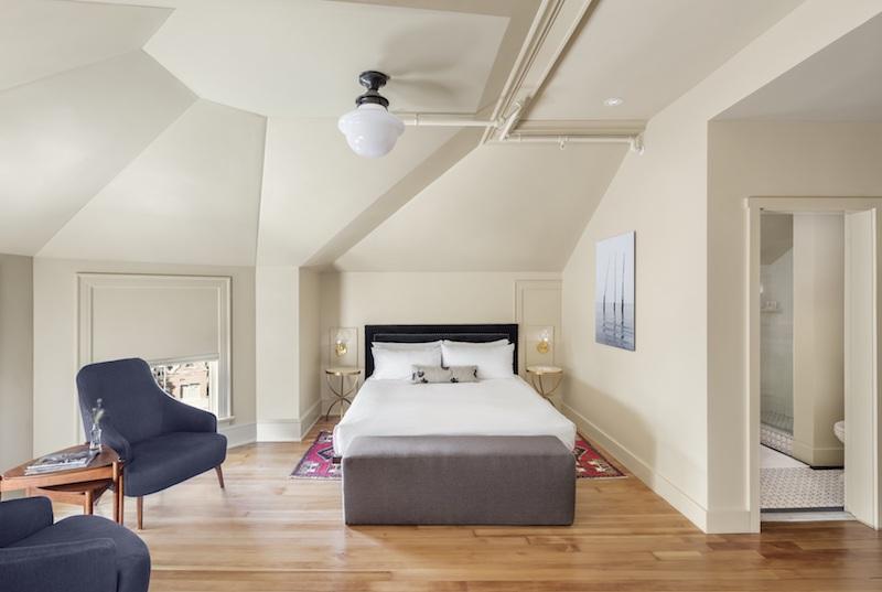 The Francis guestroom © Irvin Serrano