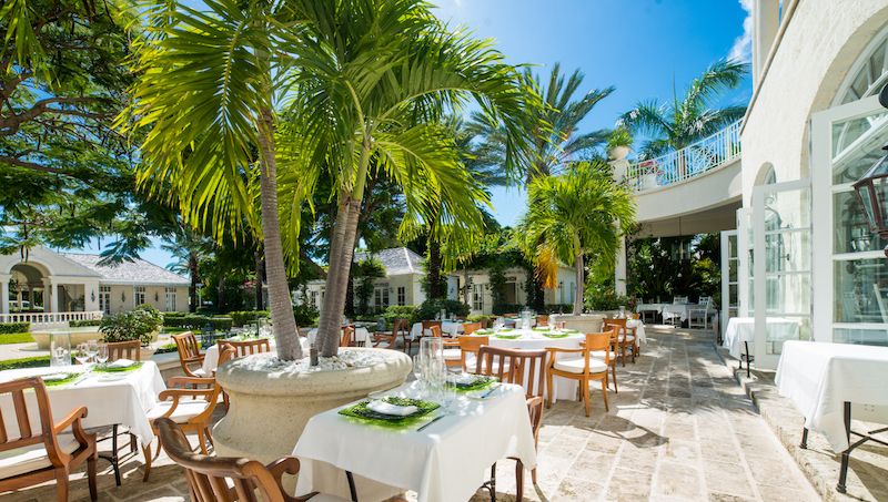 The Palms dining
