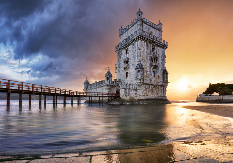 Lisbon, Belem tower at sunset in Lisboa, Portugal © Tomas1111 | Dreamstime.com