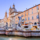 Piazza Navona and Fountain of Neptune in Rome, Italy © Izabela 23 | Dreamstime.com