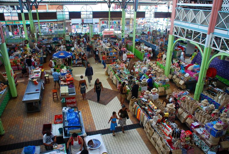 Papeete Indoor Market © Luca Roggero | Dreamstime.com