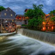 The Old Mill, Pigeon Forge Tennessee. © Anthony Heflin | Dreamstime.com