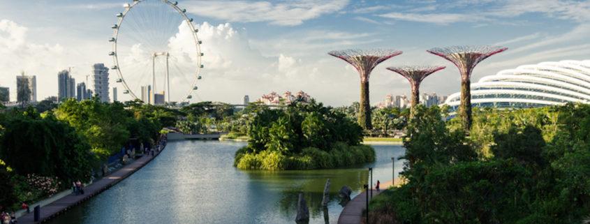 Singapore, Gardens by the Bay © Andrei Iancu | Dreamstime.com