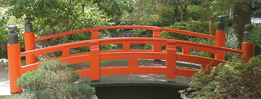 Japanese Bridge at Descanso Gardens
