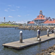 Parkers Lighthouse and marina in Long Beach, California © Gino Rigucci | Dreamstime.com