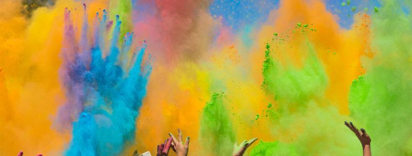Celebrating Holi Festival © Klyoshev | Dreamstime.com