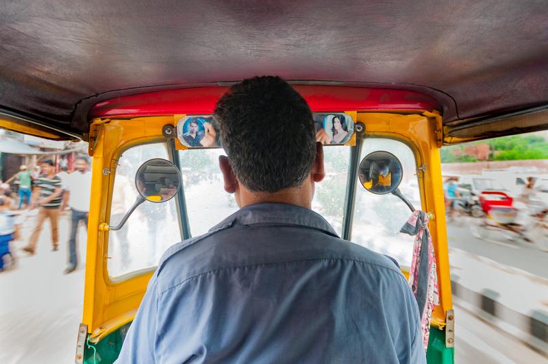 Tuc Tuc Rickshaw Driver in Delhi © Dreamstime Agency | Dreamstime.com