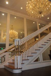 Graceland Hotel Stairway, replica.