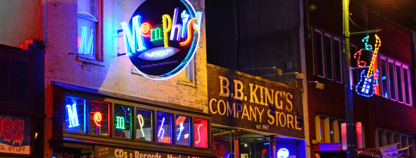 Memphis Beale Street.