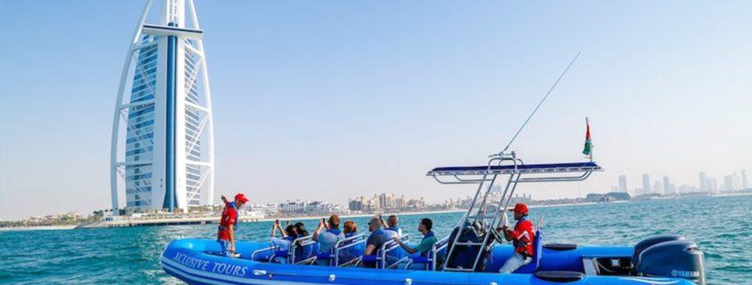 Rib Speed Boat Sightseeing Tour. Photo: Go Dubai Pass